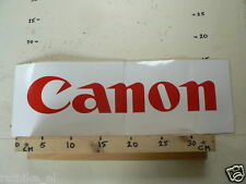 STICKER,DECAL CANON LOGO  BIG SIZE 44 CM NOT 100 % OK