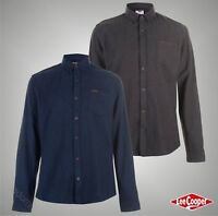 Mens Designer Lee Cooper Stylish Chest Pocket Soft Flannel Shirt Top Size S-XXL