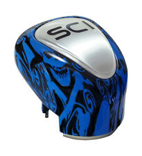 Gear Shift Knob Blue Skulls 13/18 Speed For Eaton Trucks PB KW FL++++