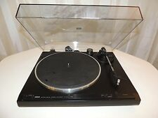 YAMAHA TT-400U TURNTABLE RECORD PLAYER WITH STANTON D71-2E VINTAGE TT400U