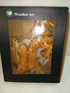 Wooden Art Jigsaw Dragon Sculpture Puzzle NEW