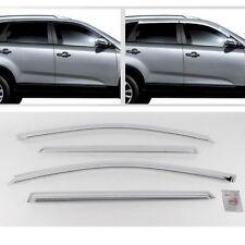 2013-2014 SORENTO R Chrome Sun Shade Rain Guard Door Window Visor K-705