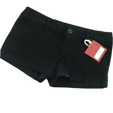 Mossimo Supply CO. Juniors Black Shorts Size 1