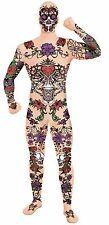 Forum Novelties Adult Disappearing Man Tattoo Skin Halloween Costume Bodysuit