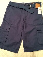 Walking Shorts Timberland Boys Sz 18 Slate Blue