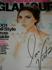 Victoria Beckham GLAMOUR Magazine September 2012 The Fashion Issue