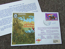 ESCAPE from South East ASIA Hand Signed RAF Escaping Society FDC 1977 - SEE PICS