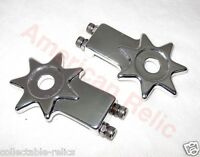 Chain Tensioner Adjuster Alloy Star Pr BMX Old School Fixie Bicycle Bike Silver