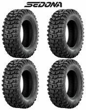 (4) Sedona Buzz Saw RT 26x10-12 FRONT/REAR Complete Set ATV/UTV Tires - 26x10x12