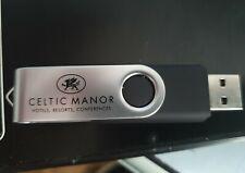 One 1GB USB Memory Stick / Flash Drive Celtic Manor