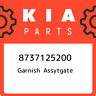 8737125200 Kia Garnish assytgate 8737125200, New Genuine OEM Part