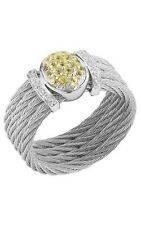 NWT PHILIPPE CHARRIOL ALOR CELTIC CLASSIC CABLE RING 02-32-s438-23 Size 6.5 $695