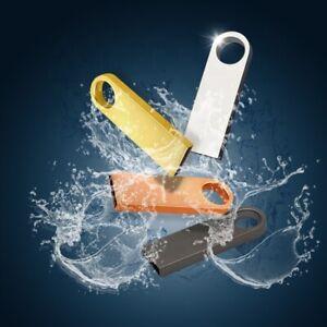 CHIAVETTA PEN DRIVE PENNETTA USB IN METALLO DA 16-32-64-128 GB