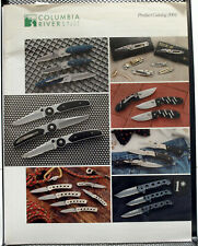 Ccloumbia River Knife & Tool Product Catalog From 2001