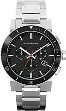 Burberry BU9380 Swiss Stainless Steel Wristwatch - Black