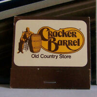Rare Vintage Matchbook F5 Lebanon Tennessee Cracker Barrel Old Country Store