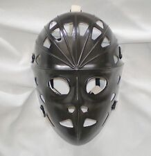 MYLEC VINTAGE BLACK HOCKEY GOALIE FACE MASK HELMET NHL STREET NEVER USED RARE!