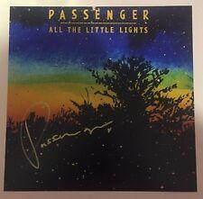"Autographed Passenger Mike Rosenberg signed 12x12 12"" Album cover photo LP"