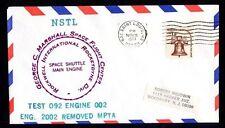 Estados unidos NSTL Space Shuttle Main Engine test 092 Engine 002