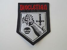DIOCLETIAN BLACK METAL EMBROIDERED PATCH