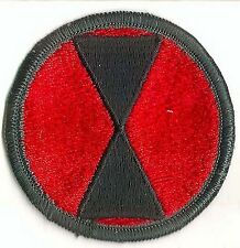 Us Army 7Th Infantry Division Patch - Full Color