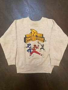Vintage Power Rangers Sweater Toddler Kids (Runs Small Like Size 7) Size 10-12