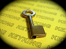 Key Blank To Suit CHUBB/ UNION Cruiser Padlock 1K21-Keyblank-Fast Int. Post