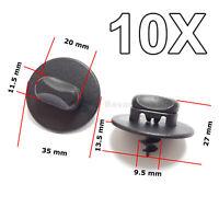 10X Floor Mat Clips,Twist Lock Fasteners, for Volkswagen, VW, AUDI, SKODA, SEAT