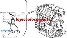 7553268 Piastra Supporto Motore Lancia Delta 4wd - Evoluzione  Originale