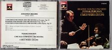Brahms: Violin Concerto - Perlman/Giulini - Chicago Symphony CD 1986 EMI