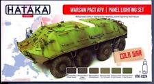 Hataka Hobby Paints WARSAW PACT ARMORED FIGHTING VEHICLES Acrylic Paint Set