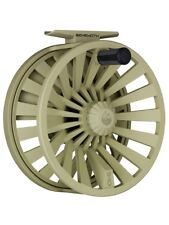 NEW REDINGTON BEHEMOTH 9/10 WT FLY REEL DESERT TAN + WARRANTY, FREE U.S. SHIP