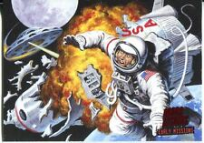 Mars Attacks Invasion Early Missions Chase Card #6
