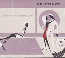 DE-PHAZZ Death By Chocolate CD 2001 Limited Editoin Digipack Ambient * TOP