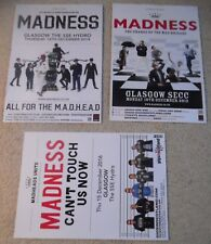 Madness - poster JOB LOT bundle - live music show concert gig tour posters