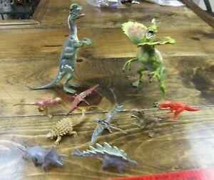 Jurassic Park  Dilophosaurus pair with 8 Jurassic World dinosaurs Wal-Mart