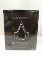 Assassins Creed Brotherhood CE Collector's Edition PS3 game disc still sealed