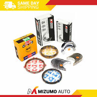 Piston Rings Main Rod Bearings Fit 83-93 Mazda B2000 626 MX6 Turbo 2.0 2.2