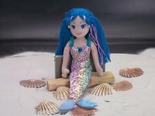 Aurora Sea Sparkles Meerjungfrau Nerine 45cm Stoffpuppe Spielzeug