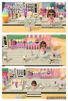 Animal Crossing New Horizon,ice Cream Bar, Café Beach  23 ítems