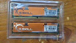 G. Skill 4GB(2 x 2GB) F2-6400CL6D-4GBMQ PC2-6400 DDRII2GB Desktop RAM CL6-6-6-18
