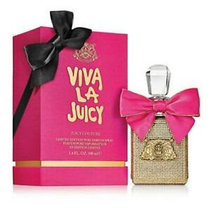 NEW Juicy Couture Viva La Juicy Pure Perfume LE Gold Bottle 3.4 fl oz