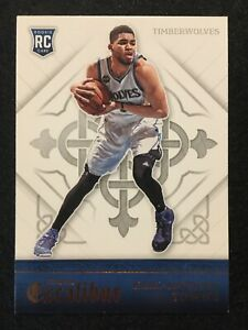 🔥 KARL-ANTHONY TOWNS - 2015-16 PANINI EXCALIBUR ROOKIE CARD #167 💎INVEST💎