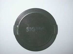 VINTAGE SIGMA 62MM SNAP ON LENS CAP MADE IN JAPAN -FREE SHIPPING-