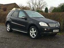 2007 Mercedes ML500 LEFT HAND DRIVE L.H.D Rare Ideal for export On Uk Plates