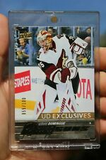 2015-16 Louis Domingue UD Young Guns Exclusives #471 Ser: 055/100 Rookie RC