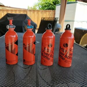 4 MSR Fuel Bottles and Two Pumps