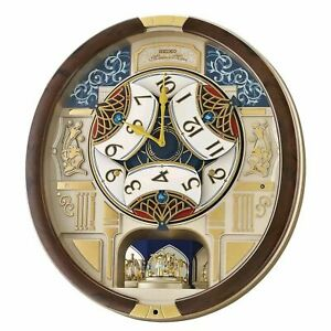 Seiko Melodies in Motion Wall Clock 2021 Swarovski Crystals EXCLUSIVE EDITION🔥