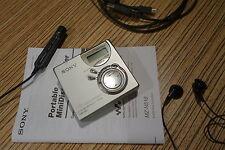 Sony md minidisc MZ n510 USB net Player grabador plata metálica + zubeh. (43)