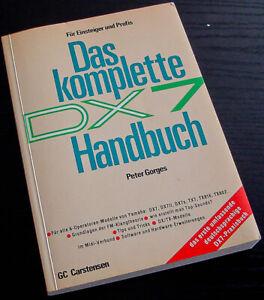 Yamaha DX7 Handbuch